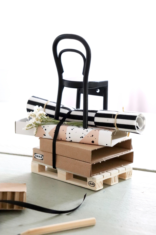 IKEA Gutschein-Geschenkverpackungsidee